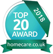 Top 20 award homecare 2018