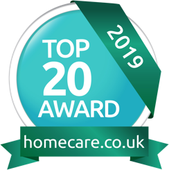 Top 20 award homecare 2019